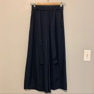 Zara Cropped Wide Leg Pants